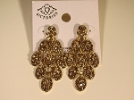 Chandelier Earrings, Gold