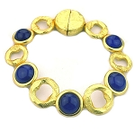 Marco Bicego Inspired Gold & Sapphire Bracelet