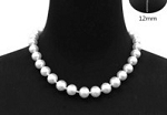 Single Strand 12mm White Pearls HOT BUY!