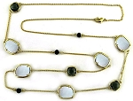Ippolita Inspired Gold Chain with MOP 36