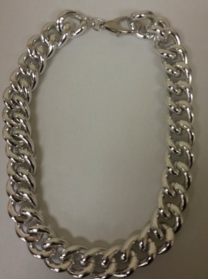 Ippolita Inspired Silver Link Necklace