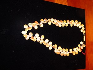 Jo-C Original Pale Pink Coin Pearl Necklace