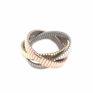 Tri Color 3 Stretch Bracelets