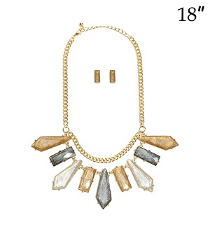 Statement Necklace Three color